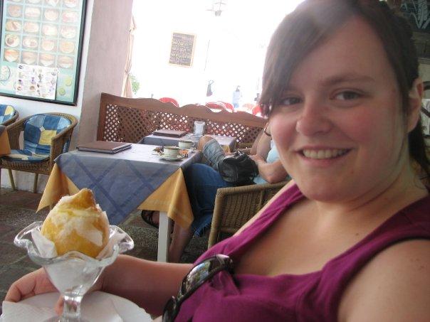 Du sorbet au citron dans un citron, Espagne