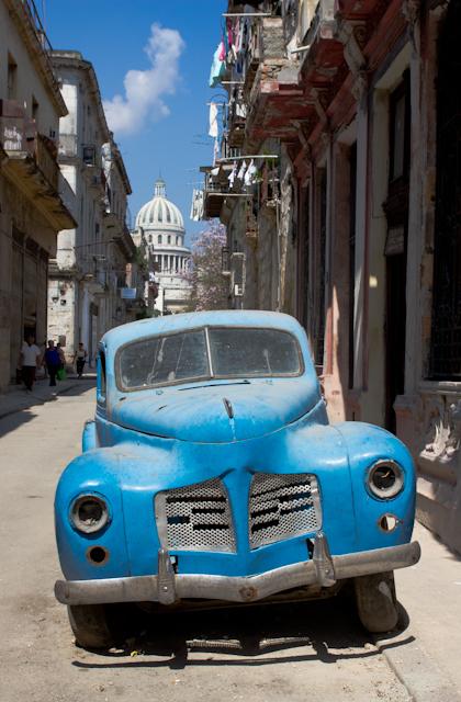 En panne à La Havane, Cuba