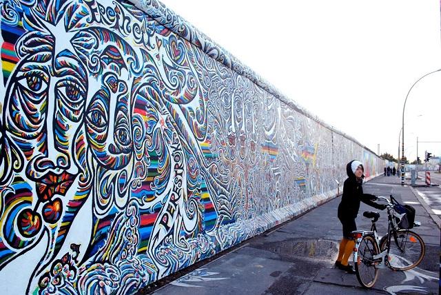 Mur de Berlin art de rue graffiti
