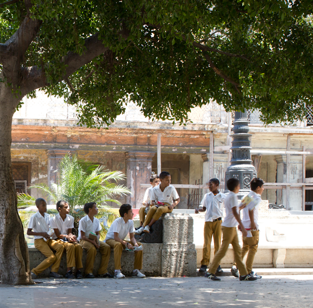 école finie, La Havane, Cuba