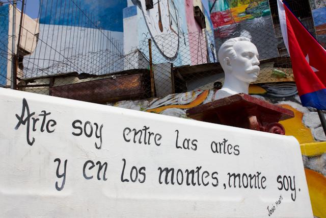 L'art au Callejón de Hamel, La Havane, Cuba