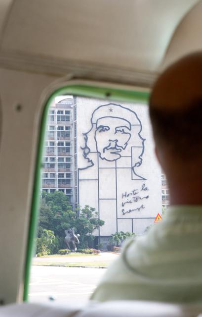 Vue sur le grand Che Guevera, La Havane, Cuba