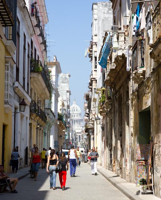 Les allées de la vieille Havane, Cuba