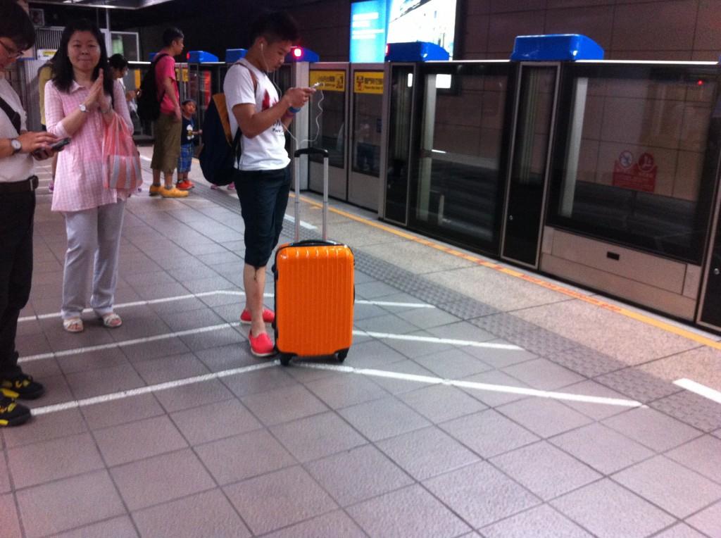 L'ordre dans les lieux publics à Taipei