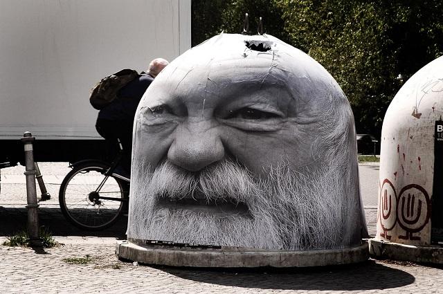 Mentalglassi art de rue Berlin