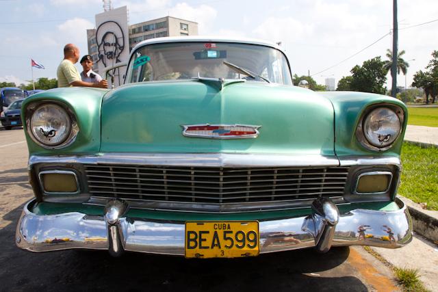 Notre taxi pour la journée, La Havane, Cuba