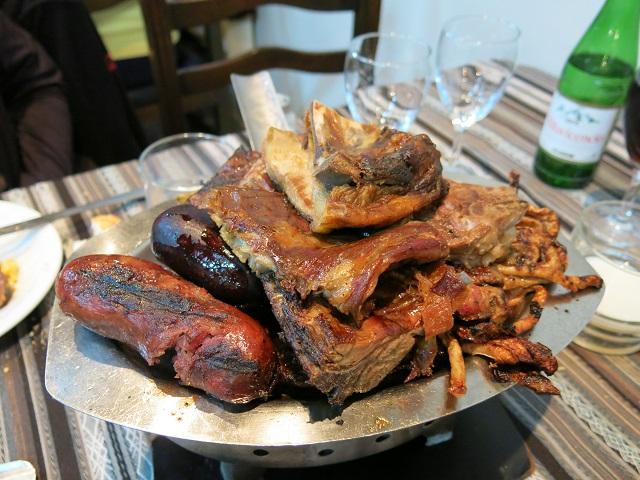Parillada, beaucoup de viande - Argentine