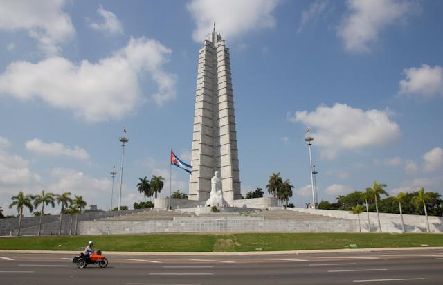 Plaza de la Revolucíon, La Havane, Cuba