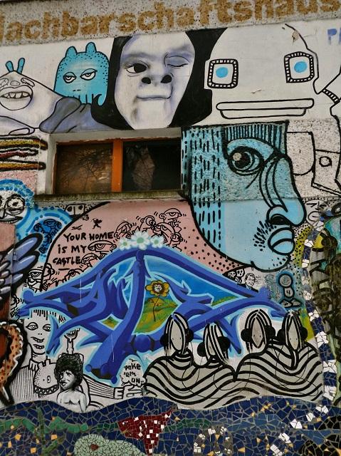 Gisele Mendez art de rue Berlin Prenzlauer Berg