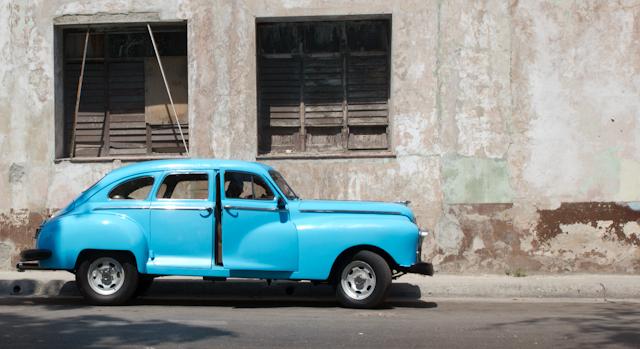 Stationnement, La Havane, Cuba