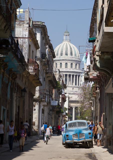 Vue sur le Capitole, La Havane, Cuba