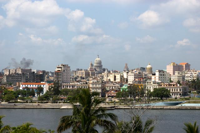 Vue sur la vieille ville, La Havane, Cuba