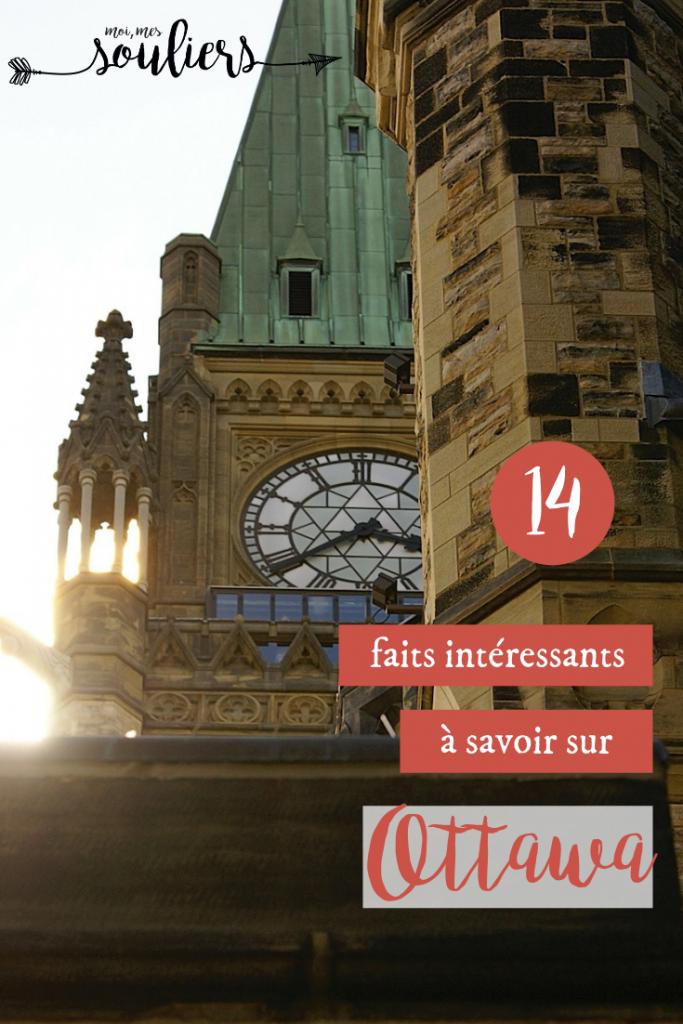 14 faits intéressants à propos d'Ottawa, Canada