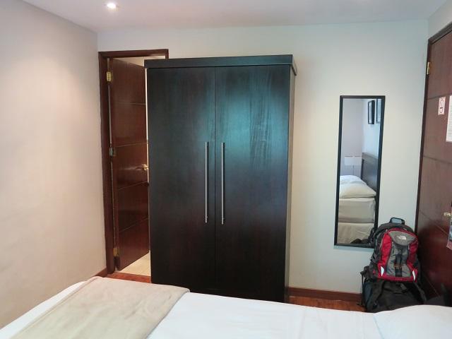 Aménagement de la chambre double au Baru Lodge, Panama City