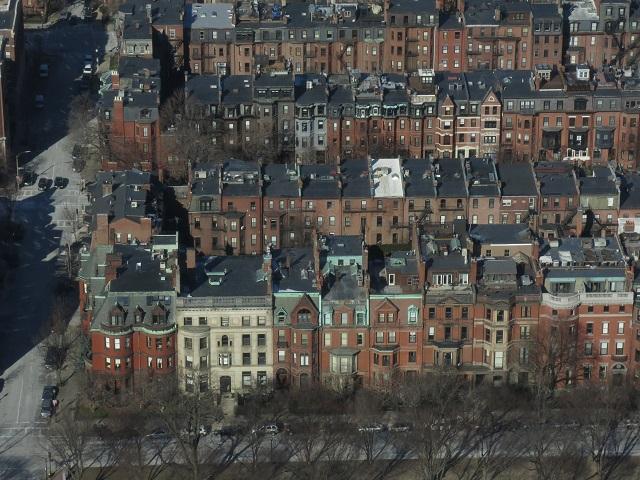 Back Bay - Boston, États-Unis