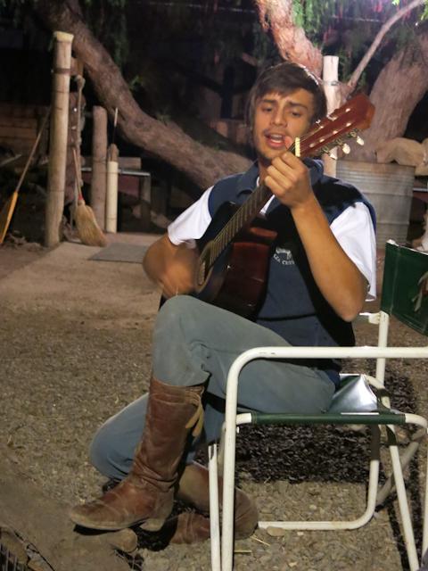 Ce gaucho nous chante la pomme - Mendoza, Argentine