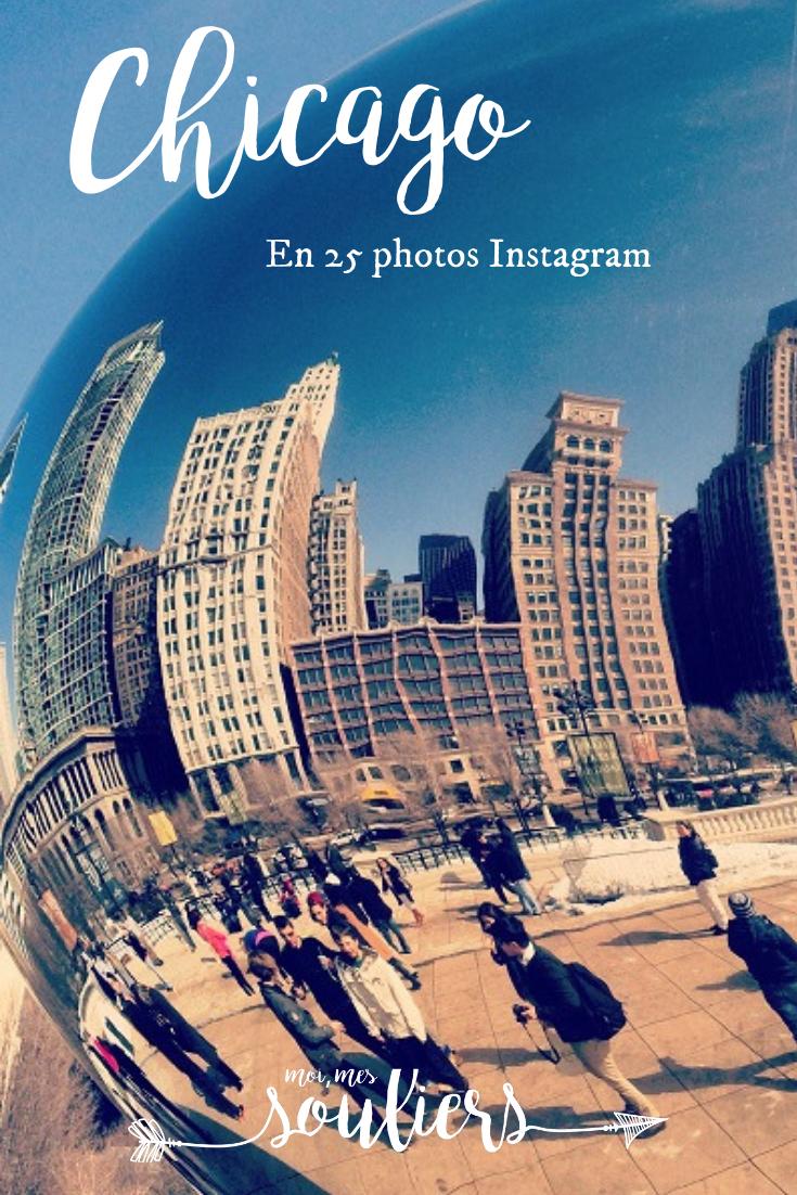 Chicago en 25 photos Instagram