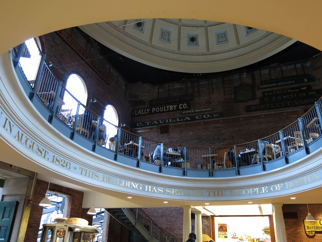 Coupole du Quincy Market - Boston, États-Unis