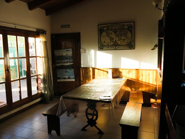 Espace commun, La Casa de Tounens, Puerto Madryn, Argentine