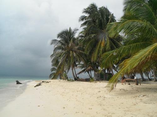 Isla Iguana, la déserte dans l'archipel San Blas, Panama