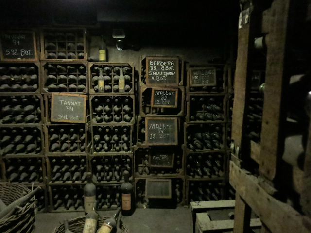 La cave de la bodega Norton - Mendoza, Argentine