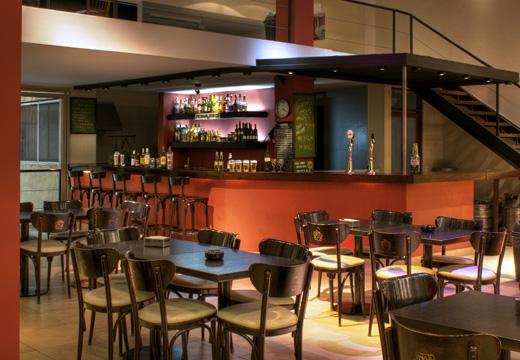 Le bar du Milhouse Avenue, Buenos Aires, Argentine