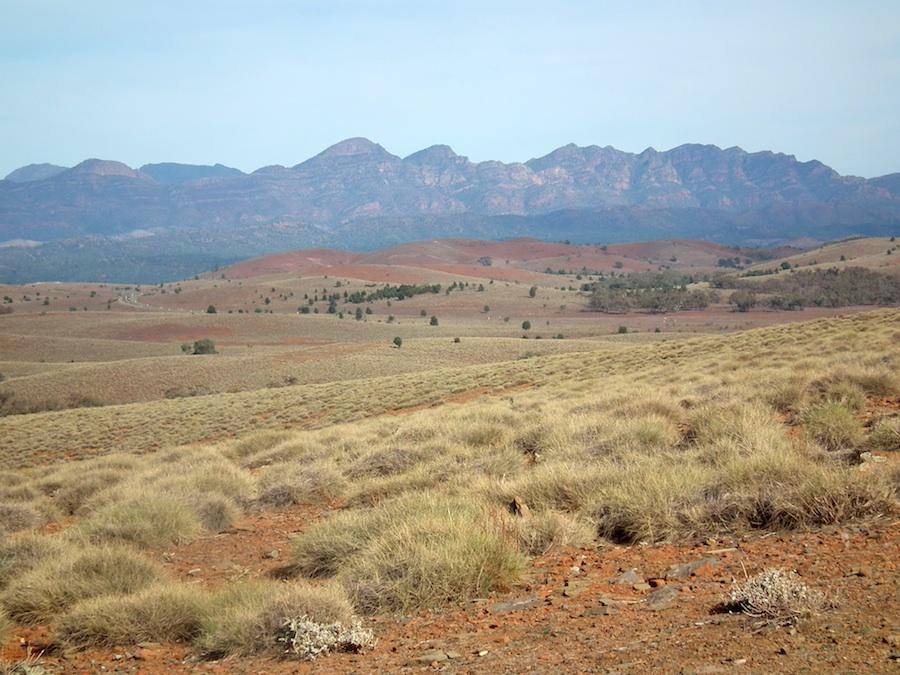 Les Flinders Ranges, Australie