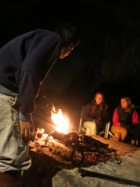 Les experts préparent le repas - Mendoza, Argentine