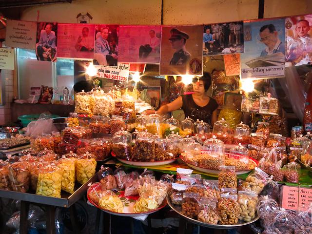 Marché thailandais