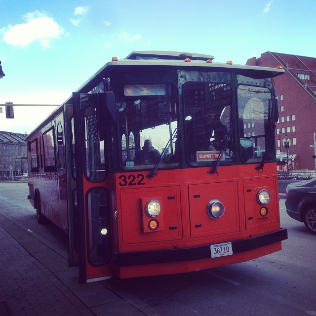 Old Town Trolley - Boston, Massachusetts