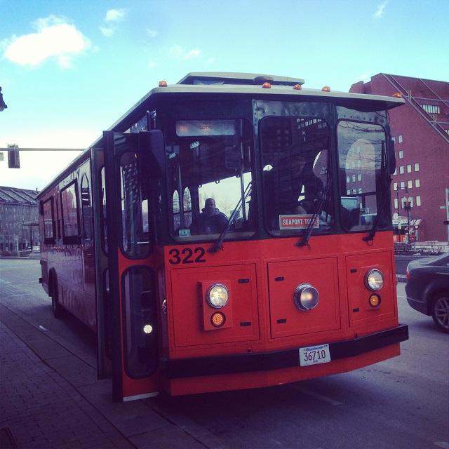 Old Town Trolley - Boston, Massachusetts