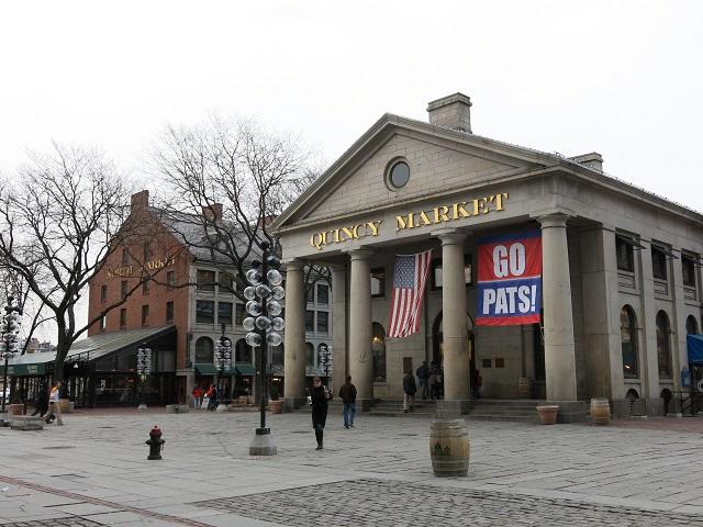 Quincy Market - Boston, États-Unis