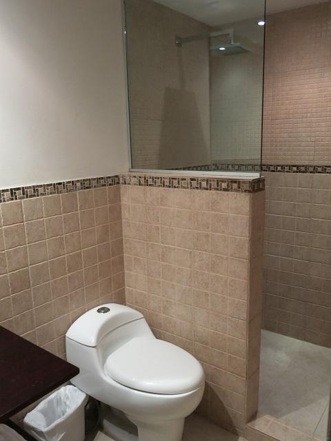 Salle de bains privée au Baru Lodge, Panama City