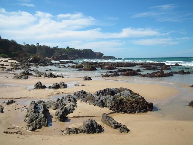 Surf Beach, Narooma Australie