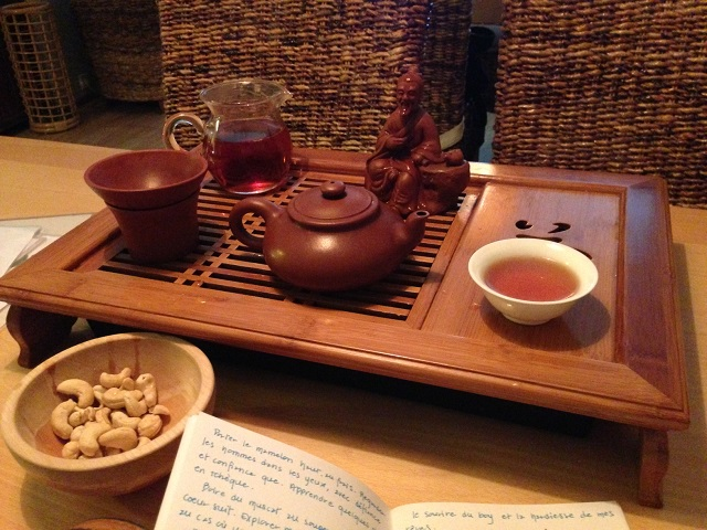 Un thé avec maitre Lu Yu à la Cesta čaje de Brno