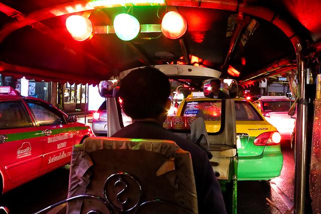 Un tour de tuk tuk à Bangkok en Thailande