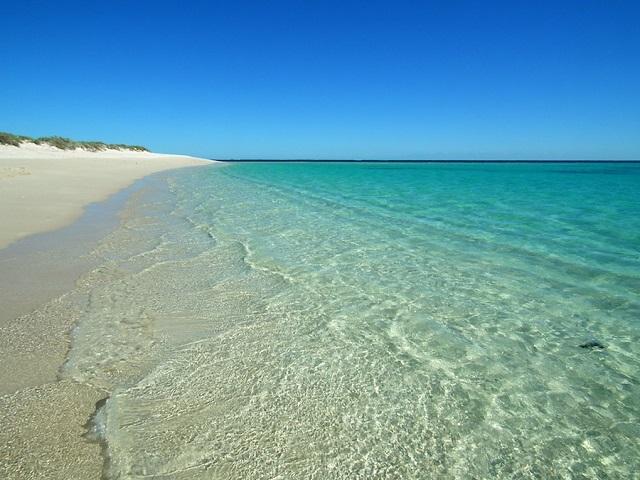 Une des nombreuses plages du Cape Range National Park Australie