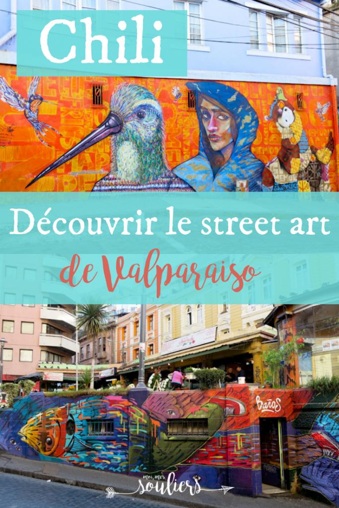 Découvrir le street art de Valparaiso, Chili