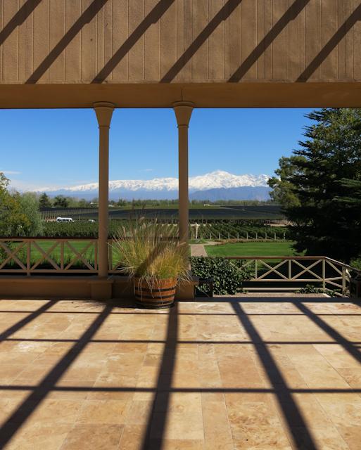 Vue de la bodega Norton - Mendoza, Argentine