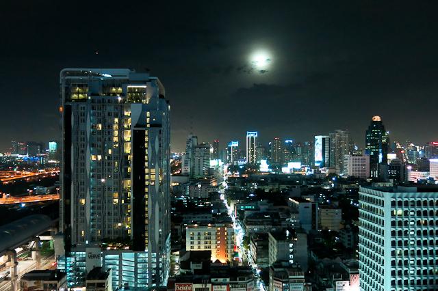 Vue du Furama Silom à Bangkok, Thailande