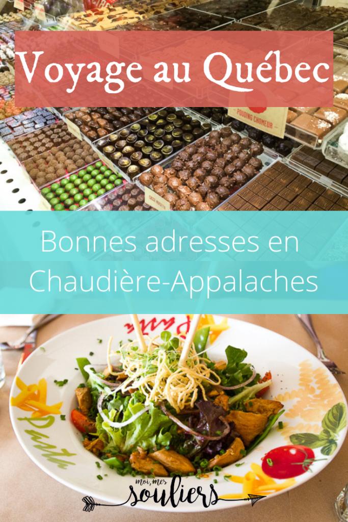 Itinéraire gourmand - Chaudière-Appalaches, Québec