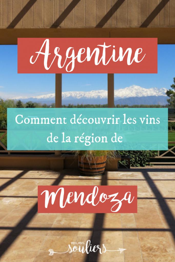 Découverte des vins de l'Argentine en voyage