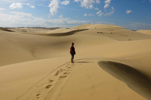 dunes de Mui Ne, Vietnam
