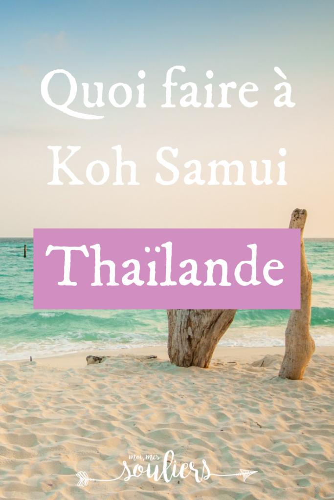 Quoi faire à Koh Samui pour une journée en voyage en Thaïlande