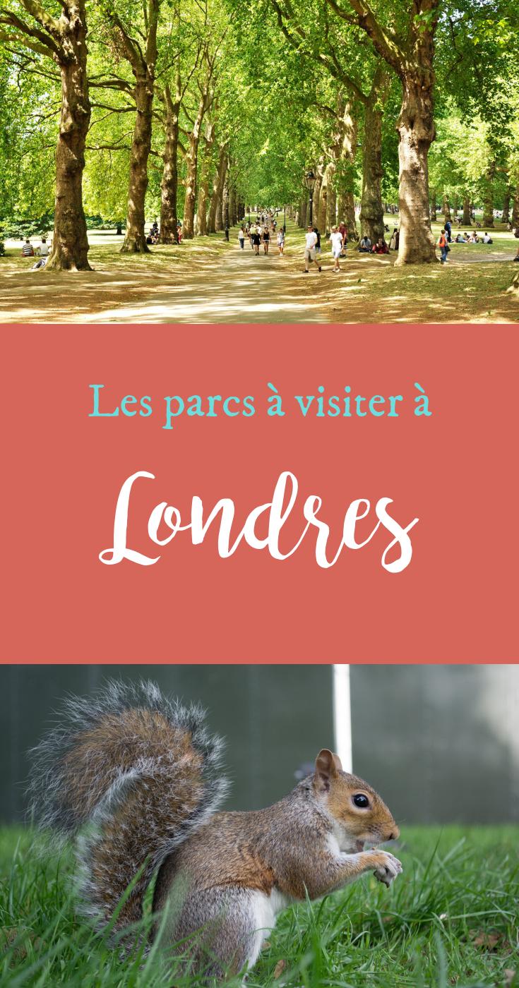 Les parcs à visiter à Londres