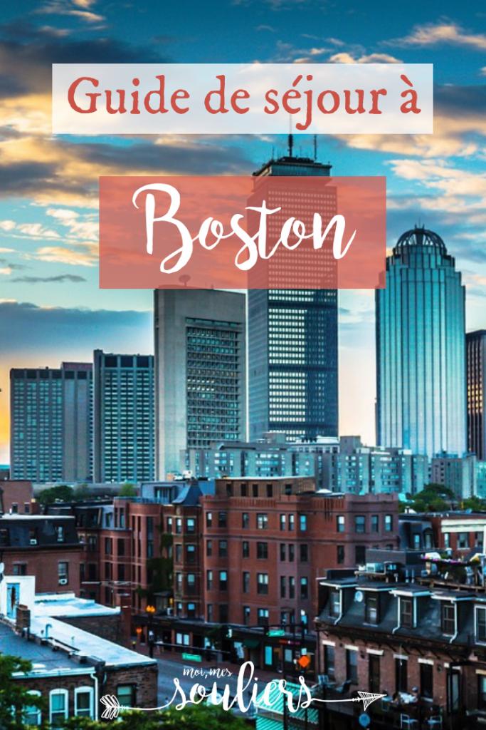 petit guide de séjour à Boston