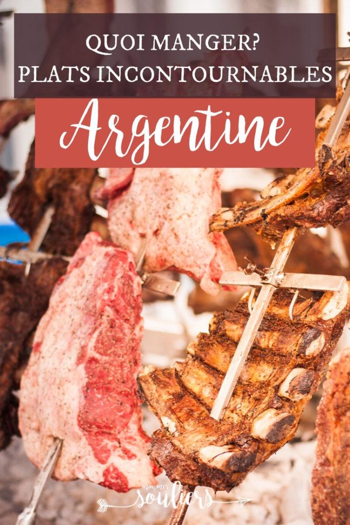Quoi manger en Argentine