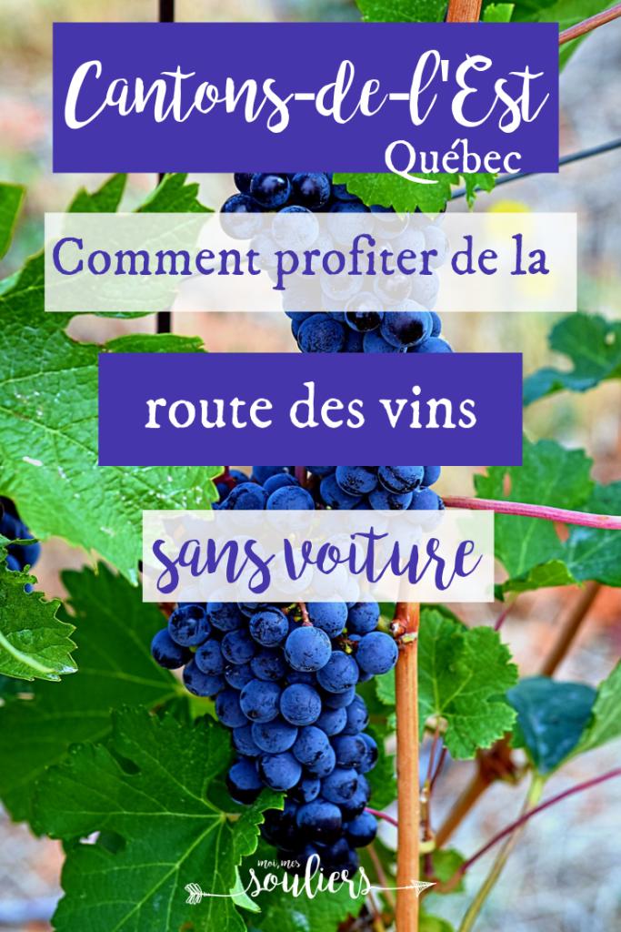 Comment profiter de la route des vins des Cantons-de-l'Est sans voiture - Québec