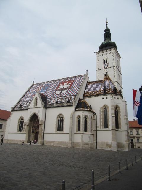 Une église comme j'en avais jamais vu avant... Zagreb, Croatie