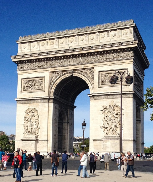 Arc de triomphe - Paris - Olivier Nau